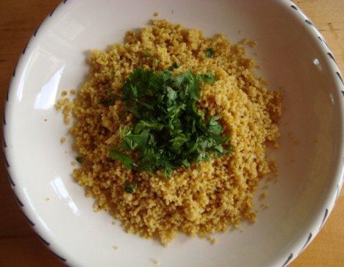 Couscous mit Koriander - Rezept - ichkoche.at