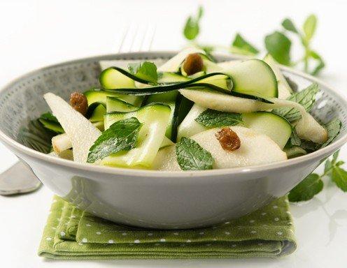 zucchini birnen salat rezept. Black Bedroom Furniture Sets. Home Design Ideas