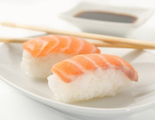 Lachs Sushi
