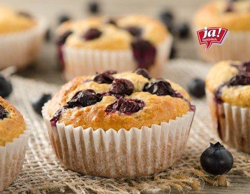 joghurt heidelbeer muffins mit cashewkernen rezept. Black Bedroom Furniture Sets. Home Design Ideas