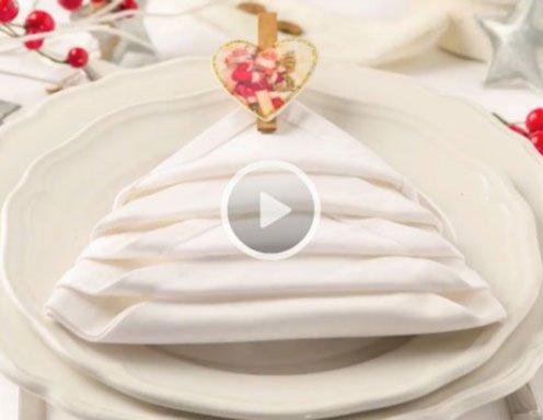 weihnachtsservietten - ichkoche.at - Weihnachtsservietten Falten