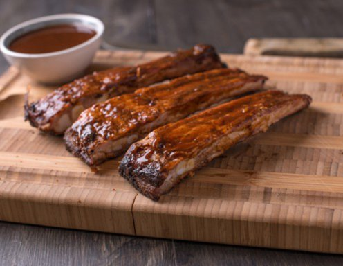 Spareribs in BBQ-Marinade