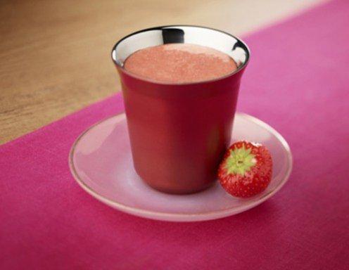 kaffee erdbeer himbeer smoothie rezept. Black Bedroom Furniture Sets. Home Design Ideas