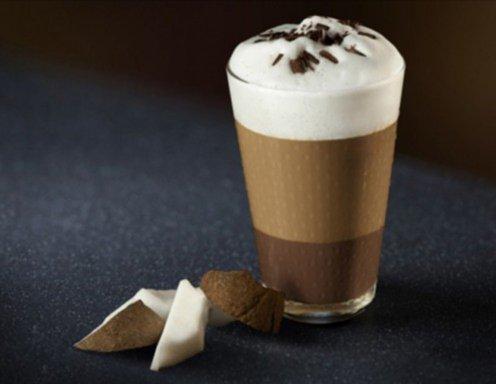 Mocca Latte mit Kokosnuss