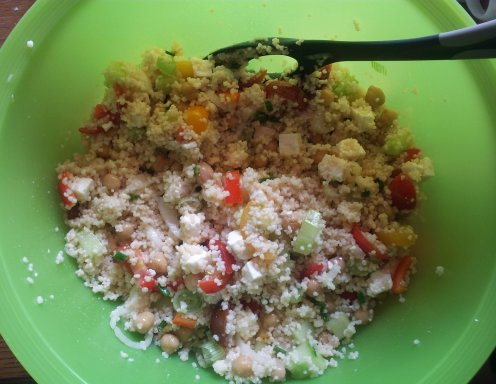 Couscous-Salat - Rezept - ichkoche.at