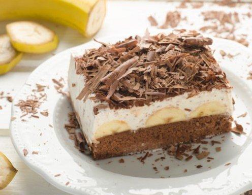 Bananenschnitten Mit Schokobl 228 Ttchen Rezept Ichkoche At