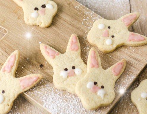 Osterhasen kekse rezept