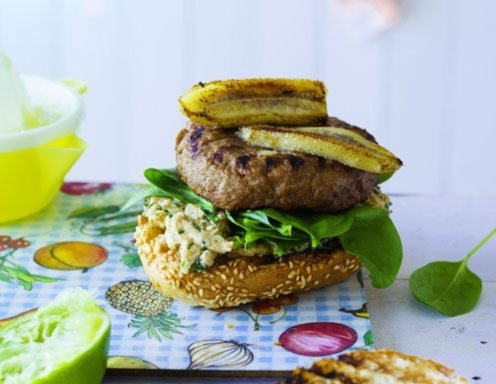 Banana Joe Burger Rezept