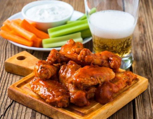 Buffalo Chicken Wings Rezept