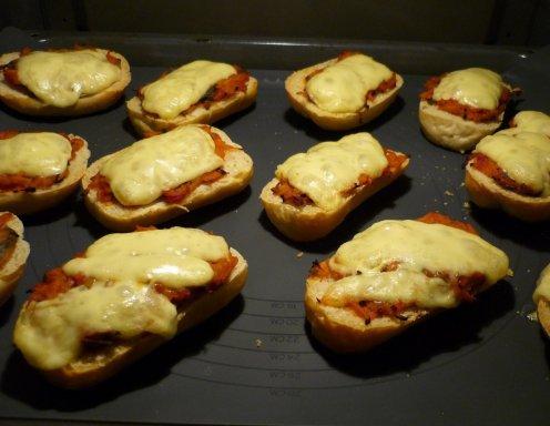 Schnelle Pizza Brötchen Rezept Ichkocheat