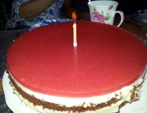 Schokoladen Vanille Torte Mit Fruchtspiegel Rezept Ichkocheat