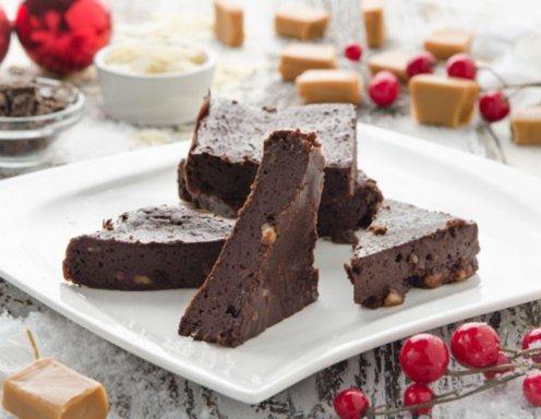 weihnachtliche schoko brownies rezept. Black Bedroom Furniture Sets. Home Design Ideas