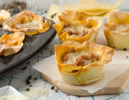 Lasagnen-Muffins Rezept