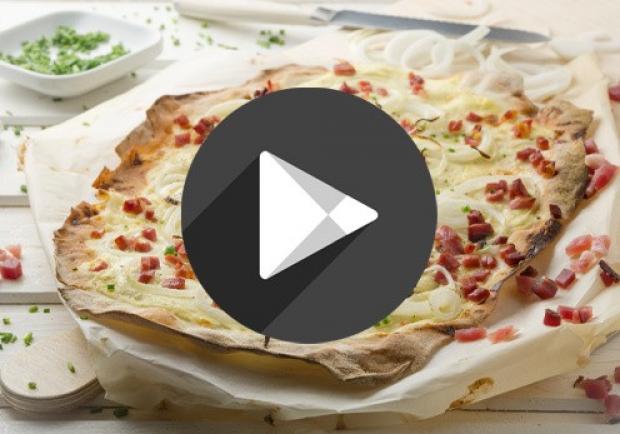Video Elsässer Flammkuchen Ichkocheat