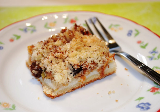 Apfel Streusel Kuchen Mit Griessbrei Rezept Ichkoche At