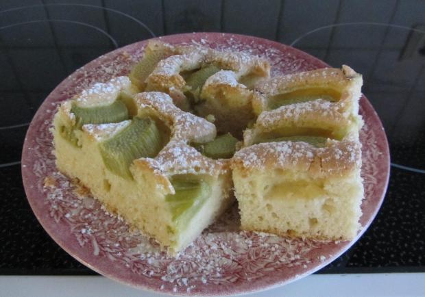 Rhabarberkuchen Vom Blech Rezept Ichkoche At