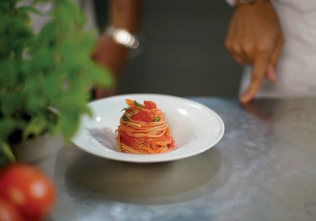 Spaghetti Al Pomodoro De Luxe Rezept Ichkoche At