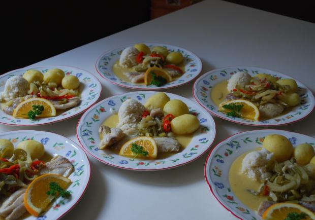 Weißweinsauce Fisch