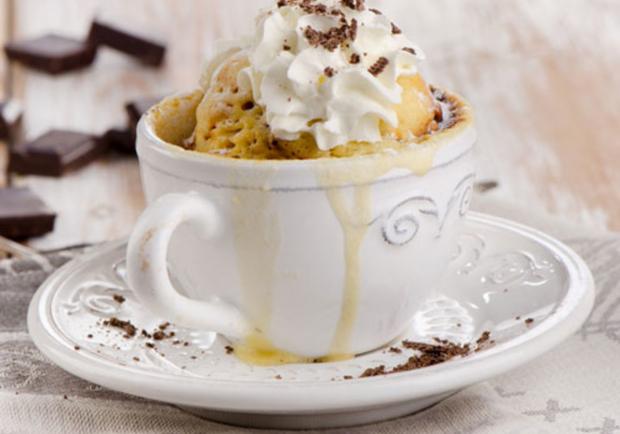 Espresso Nuss Mug Cakes Rezept ichkoche.at