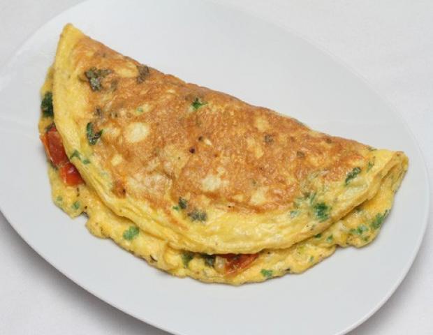 Bärlauch-Omelett - Rezept - ichkoche.at