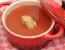 Paradižnikova juha s žličniki iz ovsenih kosmičev