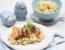 Hrustljavi losos z mandljevo rižoto in omako z Grand Marnierjem