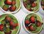 Jagode s čokolado in zelenim čilijem