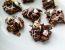 Grizljajčki iz penice marshmallow, čokolade in koruznih kosmičev
