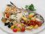 Ribja plošča s sredozemsko zelenjavo