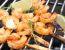 Kozice z žara v arašidovi marinadi z limeto