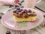 Torta iz indijančkov in z borovnicami