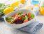 Velikonočna solata s korenčkom in avokadom
