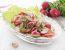 Solata z rabarbaro, avokadom in redkvicami
