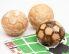 Mafini (polnjeni) v obliki nogometnih žog