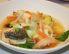 Francoska ribja jed z omako rouille in belim kruhom