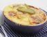 Krompirjev narastek s šunko in jajcem