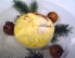 Gratinirane japonske nešplje z žafranom