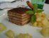Kostanjeva lazanja z omako iz kutin