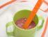 Hrana za dojenčke: prosena mlečna kaša z borovnicami