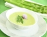 Špargljeva juha z limono iz parne pečice