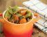 Korenčkova solata s stročjim fižolom in bučnimi semeni