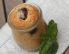 Češnjevo pecivo z meto v kozarcu