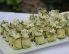 Cukini bučkini zavitki s tuno in feta sirom