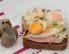 Toast s prepeličjimi jajci