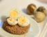 Trdo kuhana prepeličja jajca