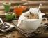 Makovo pecivo s hruškami v skodelici
