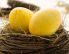 Rumeni velikonočni pirhi - barvanje s kurkumo